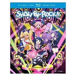 Show by rock 2-complete series (blu ray/dvd combo) (4disc) BRFN07055