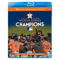 Mlb-2017 world series film (blu ray/dvd combo) (ws/1.78:1) BRSF18203