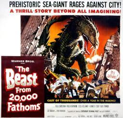 The Beast From 20000 Fathoms 1953 Movie Poster Masterprint EVCMCDBEFREC001HLARGE