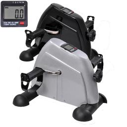 Indoor Exercise Bike Resistance Adjustable Mini Pedal Exerciser w/ LCD Display