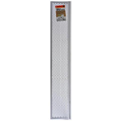Thermwell G636W Vinyl Snap In Gutter Screen, White - 6.63 in. x 3 ft.