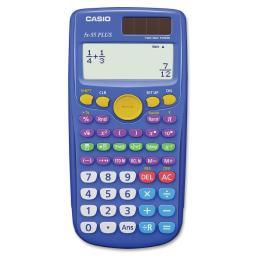 Casio fx-55plus fraction scientific calculator