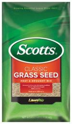 Scotts 17295 Classic Heat And Drought Grass Seed Mix, 7 Lbs