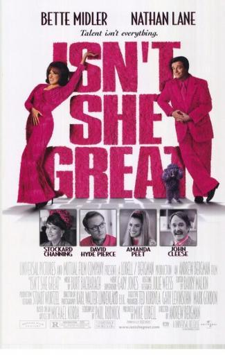 Isn't She Great Movie Poster Print (27 x 40) A36HZ9UFNKGCTI4C