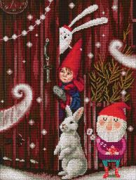 "Waiting For A Fairy Tale Counted Cross Stitch Kit-10""X15"" 14 Count M657"