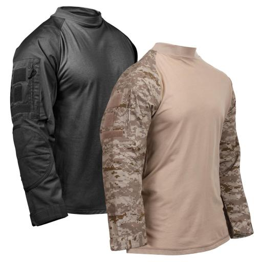 Rothco Tactical Airsoft, Lightweight Military Combat Shirt