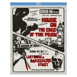 House on the edge of the park/last house on massacre street (blu-ray) BRK22997