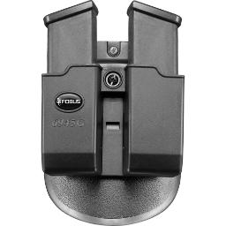 Fobus 6945gndp fobus mag pouch double for glock 45/10mm paddle style