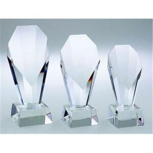 Creative Gifts International 004144 7.25 in. Optic Crystal Fountain Trophy