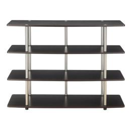 Convenience Concepts 131372ES Designs2Go Highboy TV Stand, Espresso - Extra Large - 47.25 x 15.75 x 36 in.