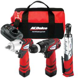 AC Delco ACD-ARZC-12-SP2 12V Impact Wrench with Magnet motor & Replaceable Brush