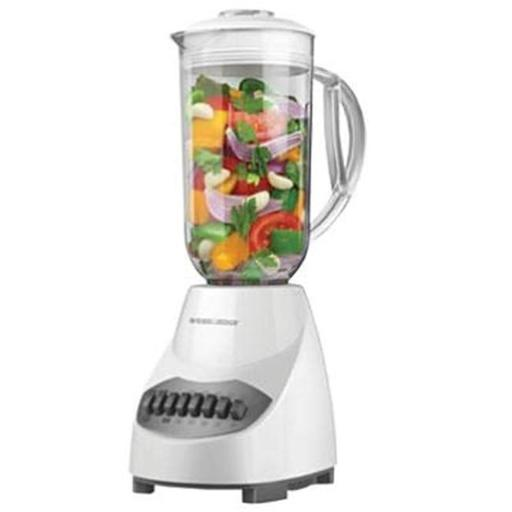 Applica BL2010WP Table Top Blender With Stainless Steel Blade Plastic Jar