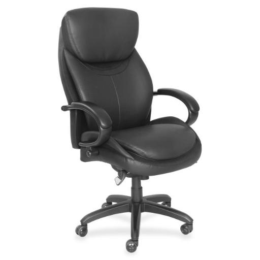 La-Z-Boy LZB48081 Executive Chair, Faux Leather - Black