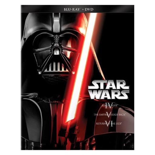 Star wars trilogy-episodes iv-vi (blu-ray/dvd/combo/ws) 1295293