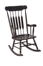 Gift Mark Adult Rocking Chair - Espresso Finish