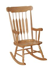 Gift Mark Adult Rocking Chair - Natural  Finish