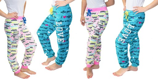 -67% Off! 4-Piece Pack Women's Lounge Pants only $22 (was $68) with Free Shipping. Available in 4 sizes.