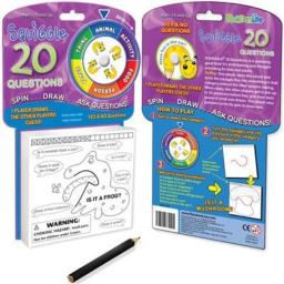 Toysmith Squiggle 20 Questions Playset