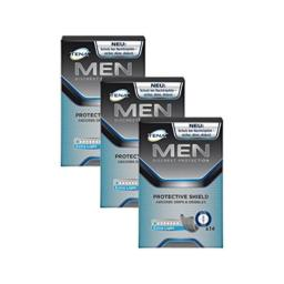 TENA Men Protective Shield Extra Light Bladder Weakness Pads for Men 3 Pack (3 Packs of 14)