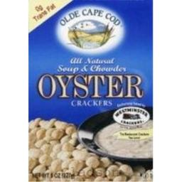 Westminster Cracker Co. Oyster Crackers, Transfat Free 8 oz. (Pack of 12)