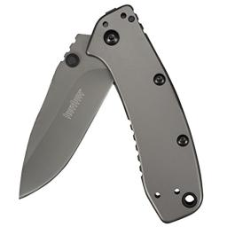 Kershaw 1556ti kershaw cryo ii assisted 3.25 in plain stainless handle