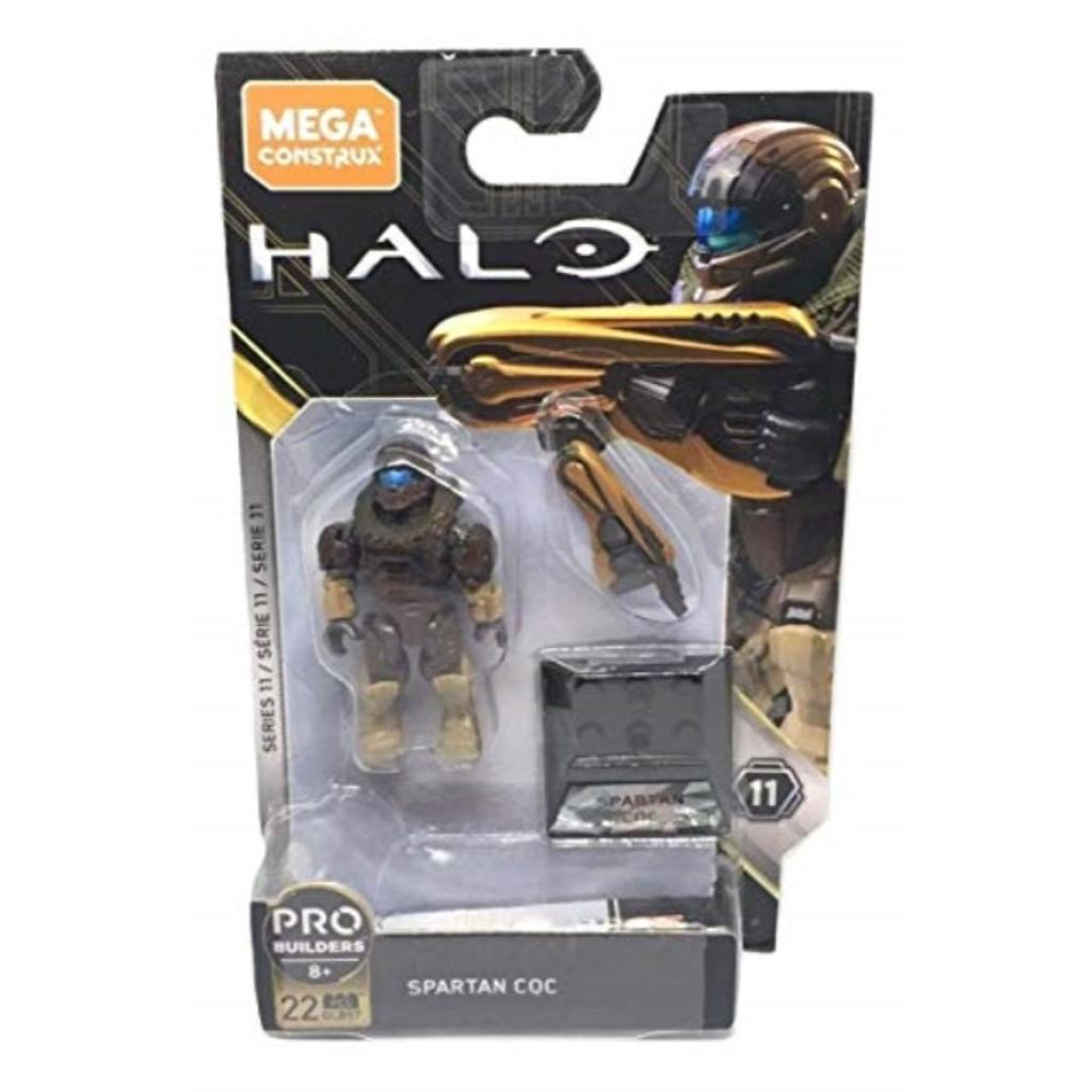22pcs New Mega Construx Halo Series 11 Pro Builders Spartan CQC Figure GLB57
