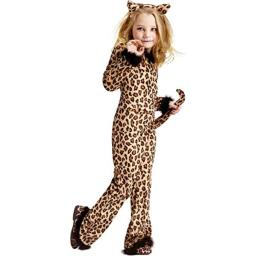 Child Pretty Leopard Costume (Small 4-6)