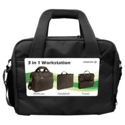 Ohmetric 30074 Notebook Briefcase with Removable Workstation and Organizer
