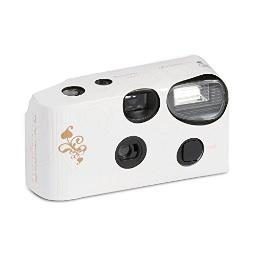 Disposable Camera With Flash Gold Filigree