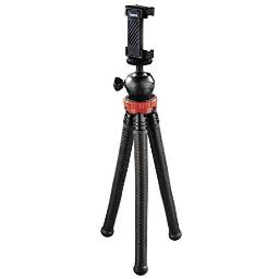 Hama Flexpro Tripod For Smartphone Gopro And Photo Cameras 27 Cm Red