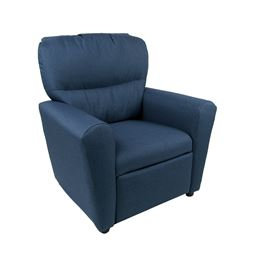 Dozydotes Contemporary  Tween Recliner in Denium