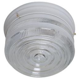 Boston Harbor F14WH02-8002CL3L 6942908 Dimmable Ceiling Light Fixture, (2) 60/13 W Medium A19/Cfl Lamp, White