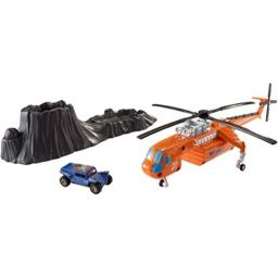 Matchbox Color Changer Helicopter Playset