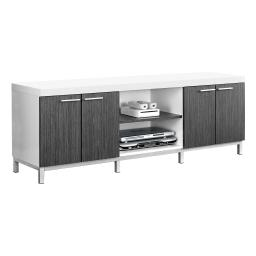 "Offex OFX-504239-MO Entertainment Room TV Stand, 60""L(White/Grey)"