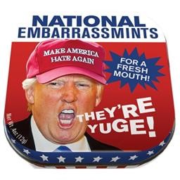 Trump EmbarrassMints Mints - 1 Small Tin 1.75 x 1.75""