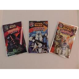 Star Wars Play and Pack Grab & Go- 3 pack resealable