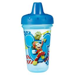 The First Years Disney Mickey Mouse Stackable Hard Spout Cup, Color May Vary