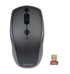 Wireless Mouse, A4tech mini wireless mouse with G9-530HX-2 Black and Grey Mouse