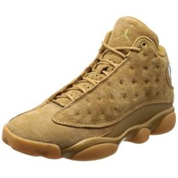 Jordan Men's AIR 13 Retro, Elemental Gold/Baroque Brown, 10 M US