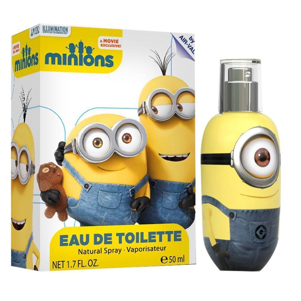 Air-val Minions 3.4 Oz Edt For Kids - MIN34SK