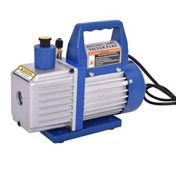 Single Stage 1/3HP 4CFM Rotary Vane Deep Vacuum Pump HVAC AC Air Tool R410a R134