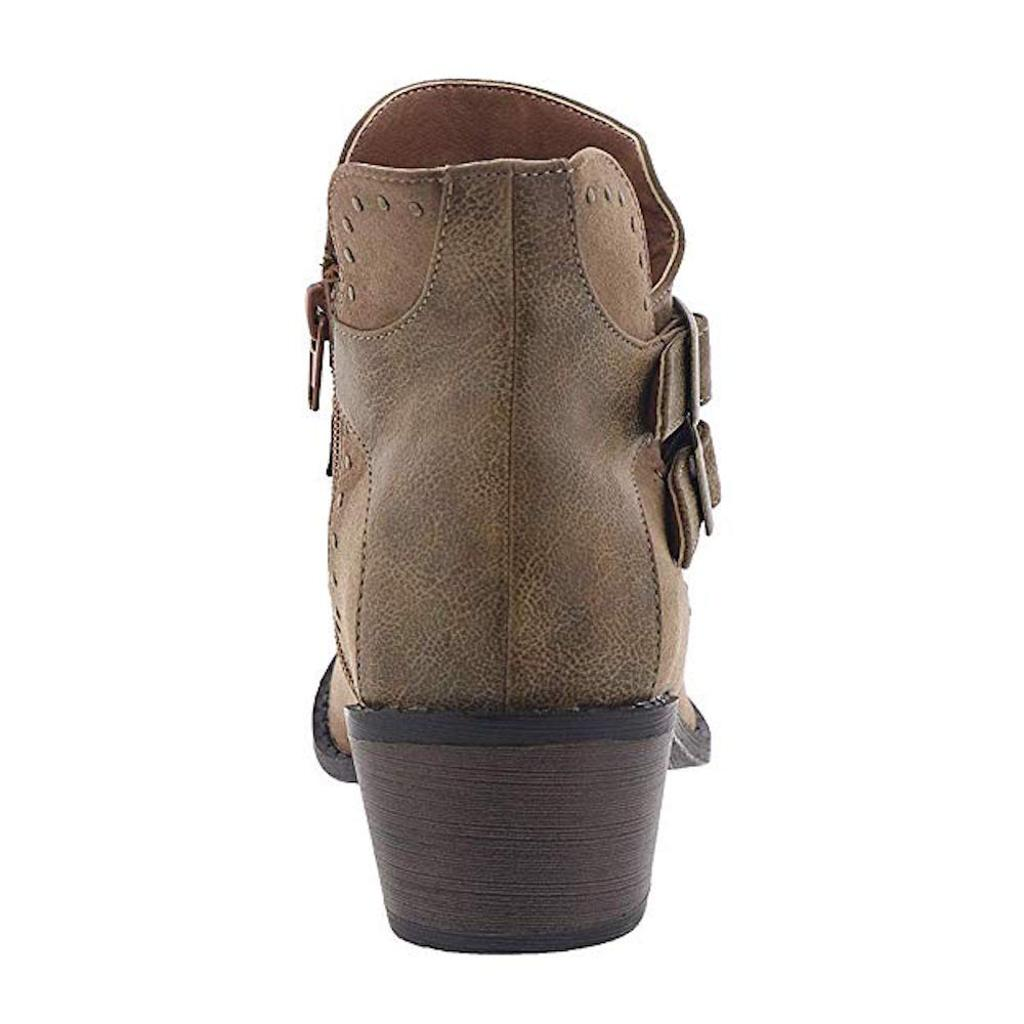 087bb5921e8 Mia Womens Henrietta Pointed Toe Ankle Cowboy Boots