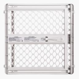 NORTH STATES 8619 White NORTH STATES PET GATE III PRESSURE MOUNTED WHITE 26 - 42 X 26