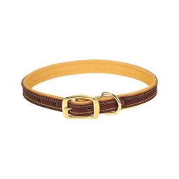 ACEDS 8427338 1 x 19 in. Leather Dog Collar