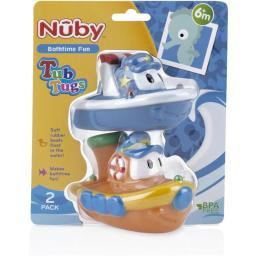 DDI 1988332 Nuby? Tub Tugs Bath Floaties 2-Pack Case of 24