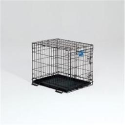 Midwest Container Lifestages Crate W Dvdr Panel 24x18x21 Inch - 1624