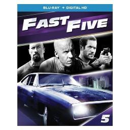 Fast five (blu ray w/digital hd) BR61184703