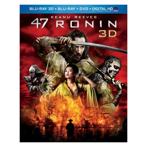 47 ronin 3d combo pack (blu ray 3d/blu ray/dvd/digital hd w/uv) (3-d) 1490165