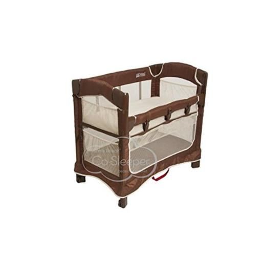 Arms Reach Concepts 5413-CN Mini Ezee 3-in-1 Bassinet - Cocoa Natural