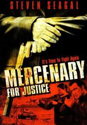 Mercenary for Justice Movie Poster (11 x 17) MOVAJ7010